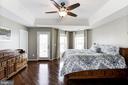 Master Bedroom w/ HW Floors - 22754 BALDUCK TER, ASHBURN