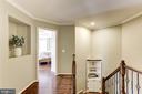 Upper-Level Hallway w/ HW Floors - 22754 BALDUCK TER, ASHBURN