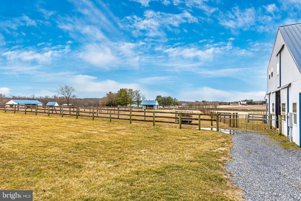 Pasture View From Barn - 4320 DAMASCUS RD, GAITHERSBURG