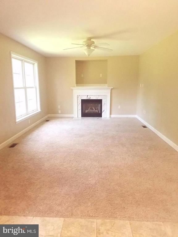 Gathering Room w/ Ceiling Fan & Gas Fireplace - 11915 TEESIDE DR, FREDERICKSBURG