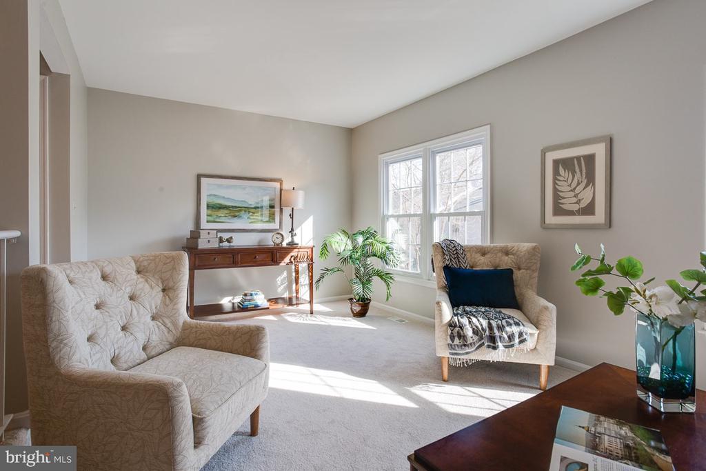 Living Room - 5506 LA CROSS CT, FAIRFAX