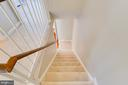 Upstairs looking to main floor - 5506 LA CROSS CT, FAIRFAX