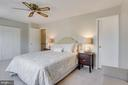 Master Bedroom - 5506 LA CROSS CT, FAIRFAX
