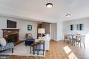 Full Basement with Fireplace - 5506 LA CROSS CT, FAIRFAX