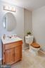 Basement Half Bathroom - 5506 LA CROSS CT, FAIRFAX