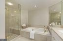Relaxing jetted tub - 5630 WISCONSIN AVE #807, CHEVY CHASE