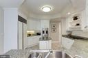 Beautiful white cabinetry - 5630 WISCONSIN AVE #807, CHEVY CHASE