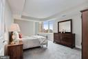 Large Master Bedroom Suite with gorgeous views! - 5630 WISCONSIN AVE #807, CHEVY CHASE