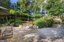 Fantastically landscaped outdoor common space - 5630 WISCONSIN AVE #807, CHEVY CHASE