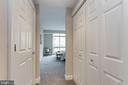 Entry to private Guest Suite w/ en-suite Bath - 5630 WISCONSIN AVE #807, CHEVY CHASE
