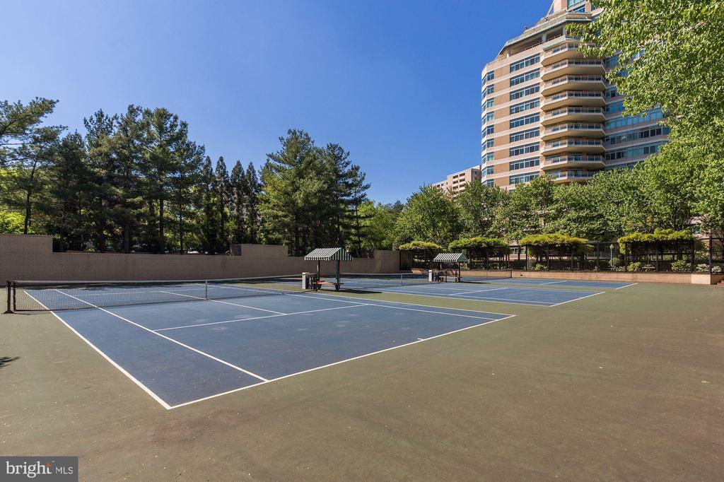 Three tennis courts - 5630 WISCONSIN AVE #807, CHEVY CHASE