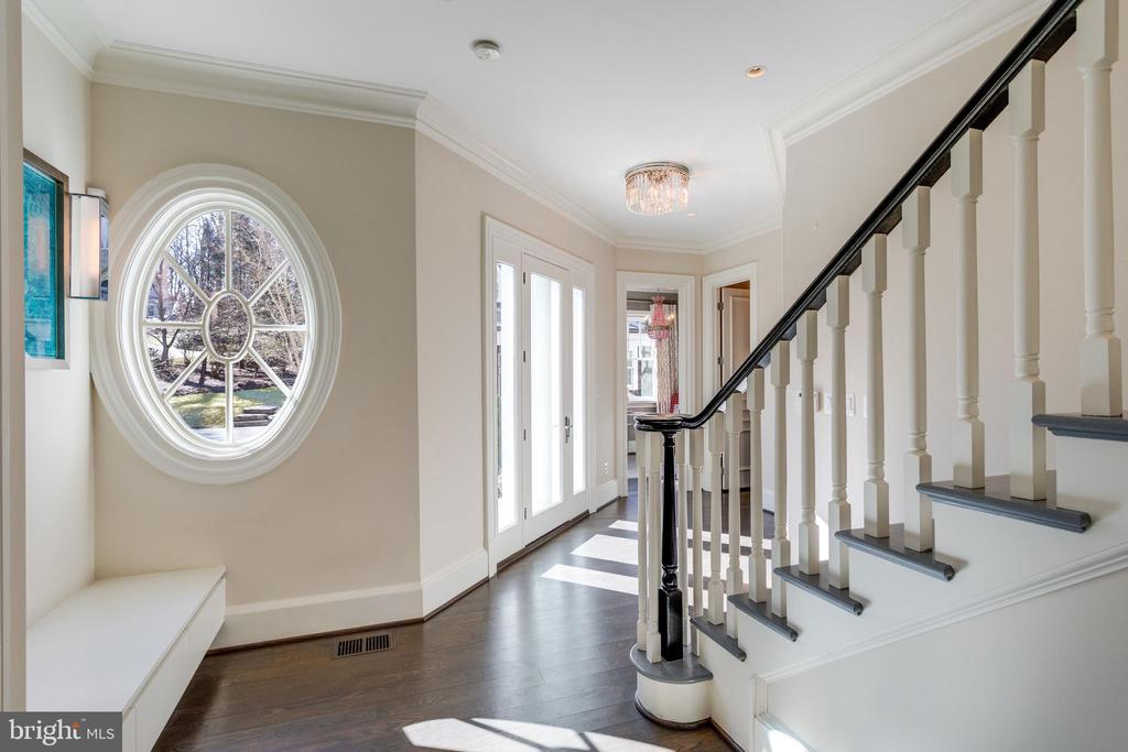 2nd stairs, & family door + more behind this - 7301 DULANY DR, MCLEAN