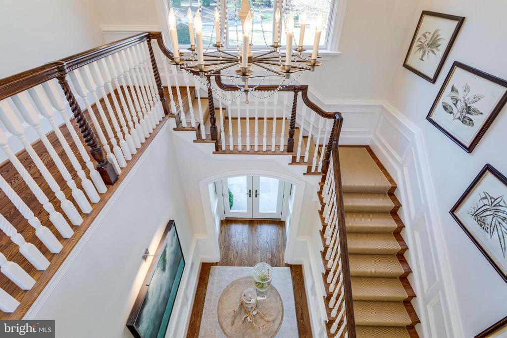 Dramatic view from above - 7301 DULANY DR, MCLEAN
