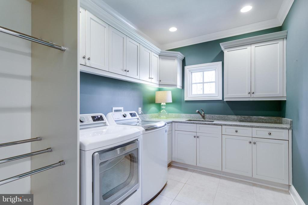 Upstairs laundry room - 7301 DULANY DR, MCLEAN