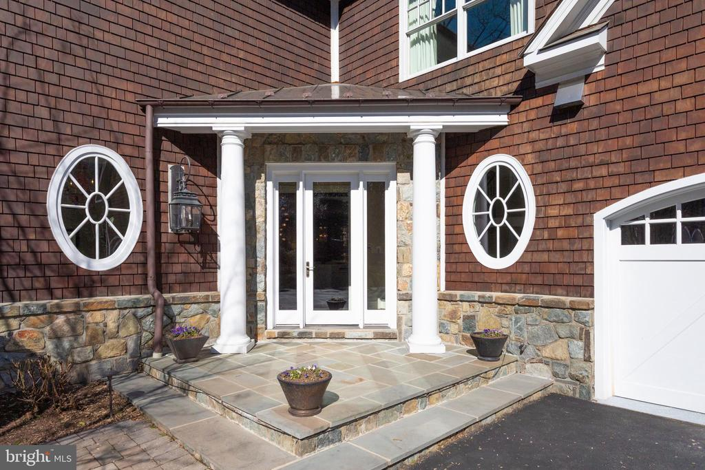 'Friends and family' entrance around back - 7301 DULANY DR, MCLEAN
