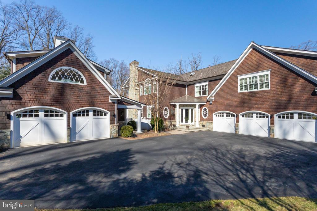 The 3 car attached garage is heated - 7301 DULANY DR, MCLEAN