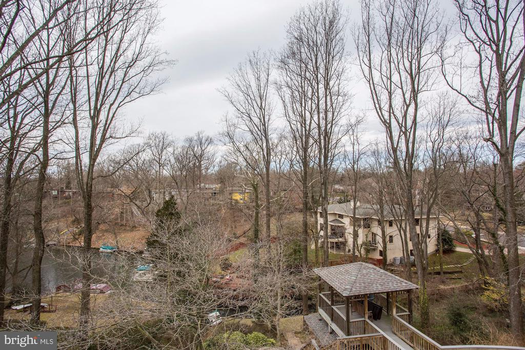 Winter View From Deck - 3502 PINETREE TER, FALLS CHURCH