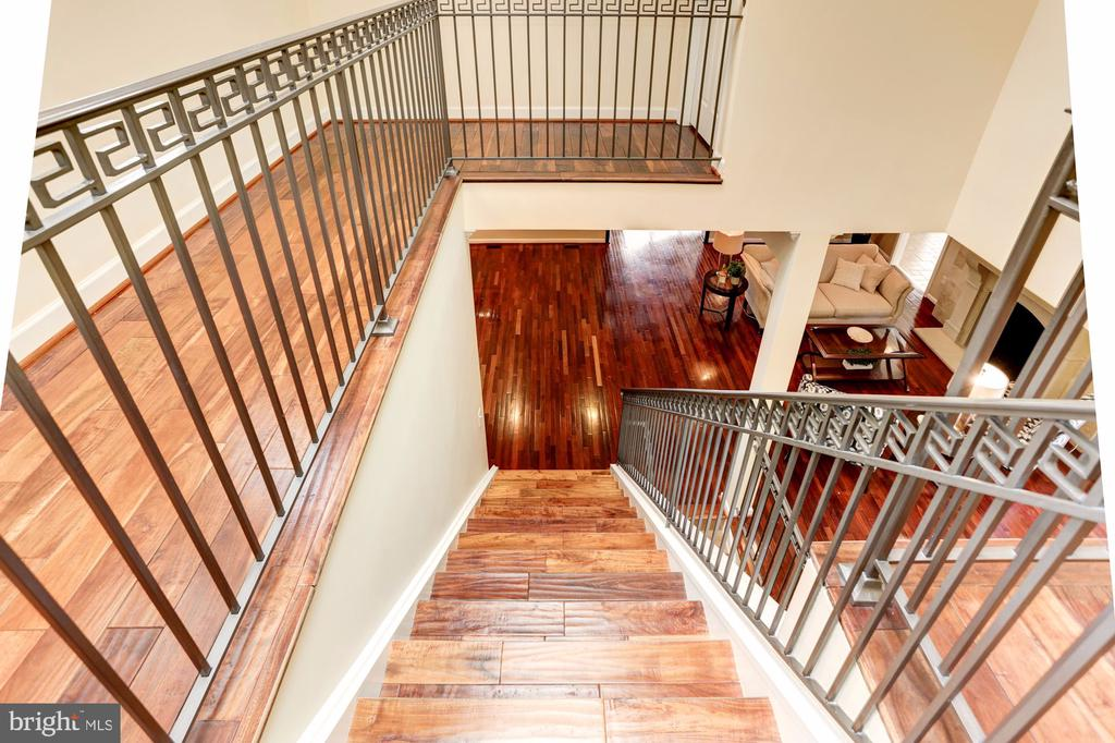View From Upper Level to The Main Level - 3502 PINETREE TER, FALLS CHURCH