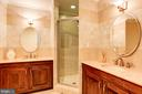 Owner's Suite Bath (Main Level) - 3502 PINETREE TER, FALLS CHURCH