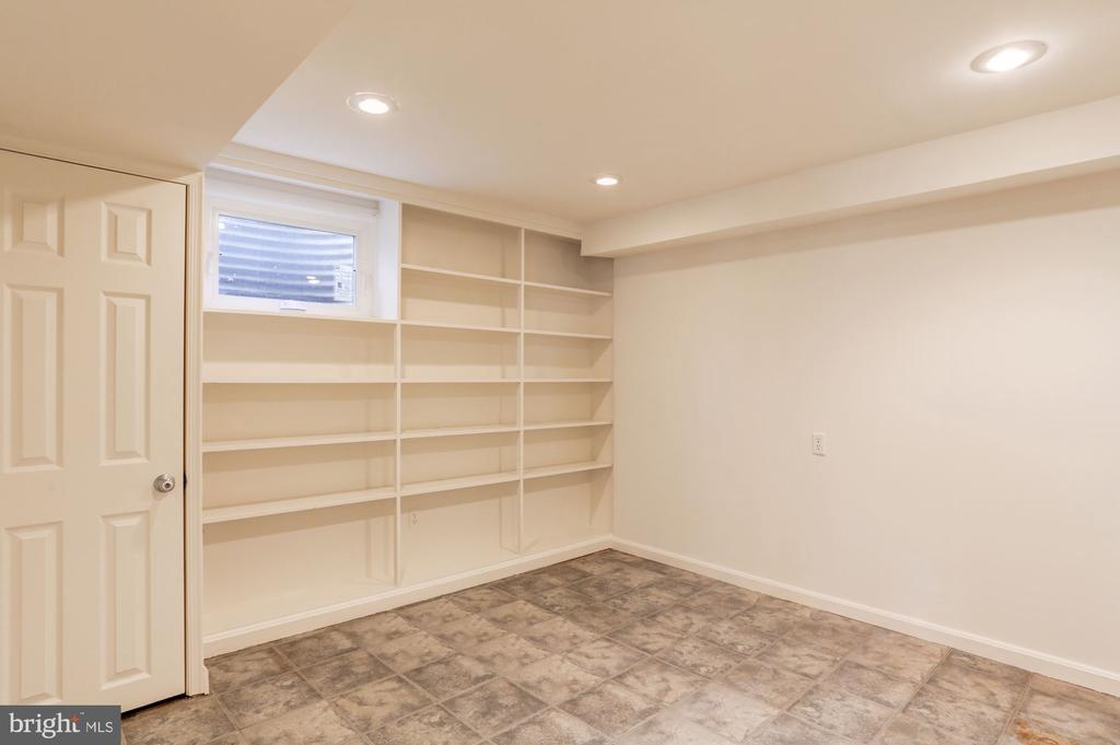 Storage/Pantry Area or Craft Room (Lower Level) - 3502 PINETREE TER, FALLS CHURCH