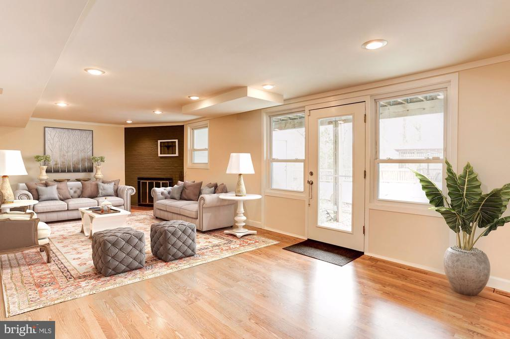Recreation Room (Lower Level) - 3502 PINETREE TER, FALLS CHURCH