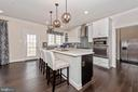 Kitchen with Stainless Steel appliances - 6437 DRESDEN PL, FREDERICK