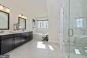 Master Bathroom - 6437 DRESDEN PL, FREDERICK