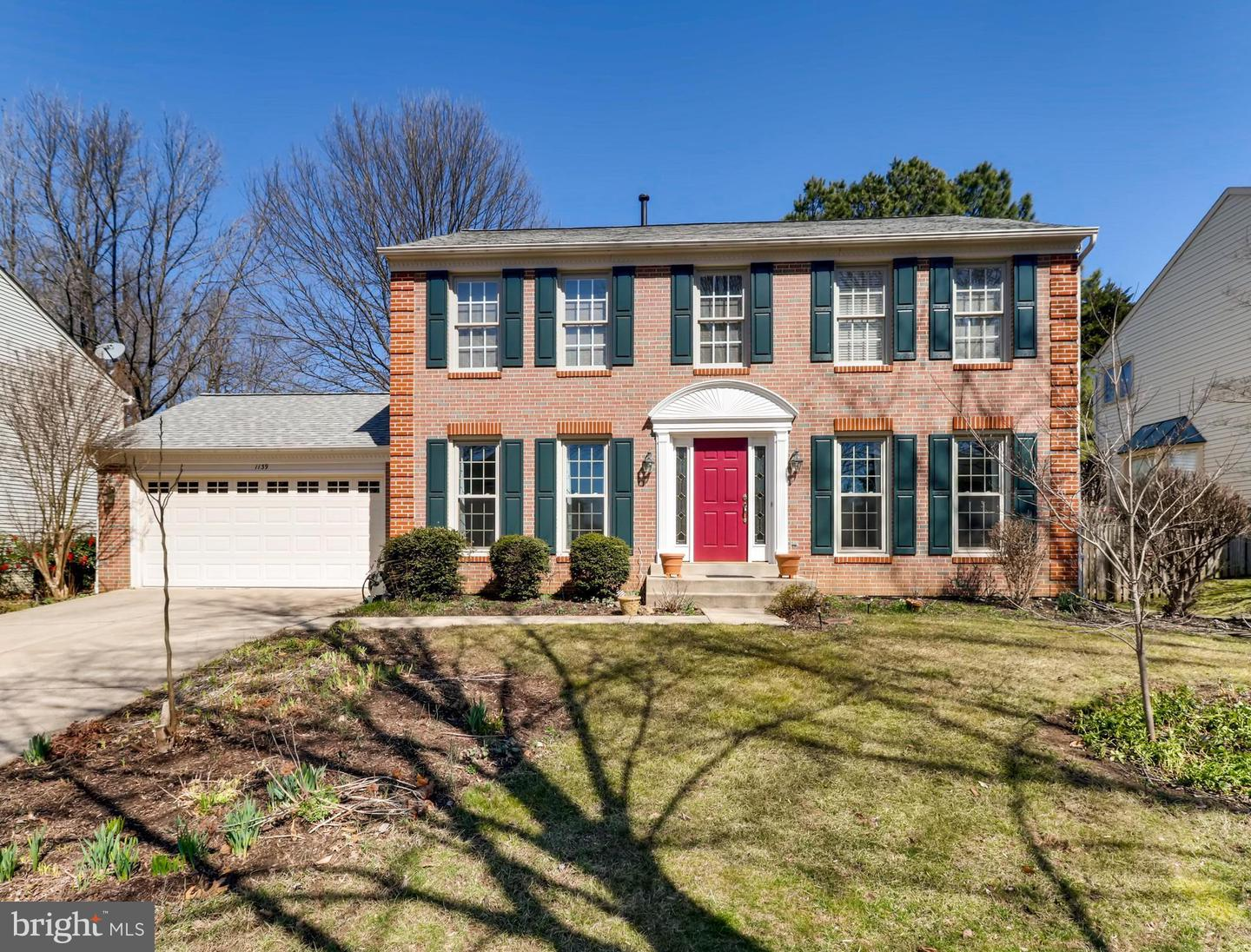 Single Family Home for Sale at 1139 Charing Cross Drive 1139 Charing Cross Drive Crofton, Maryland 21114 United States