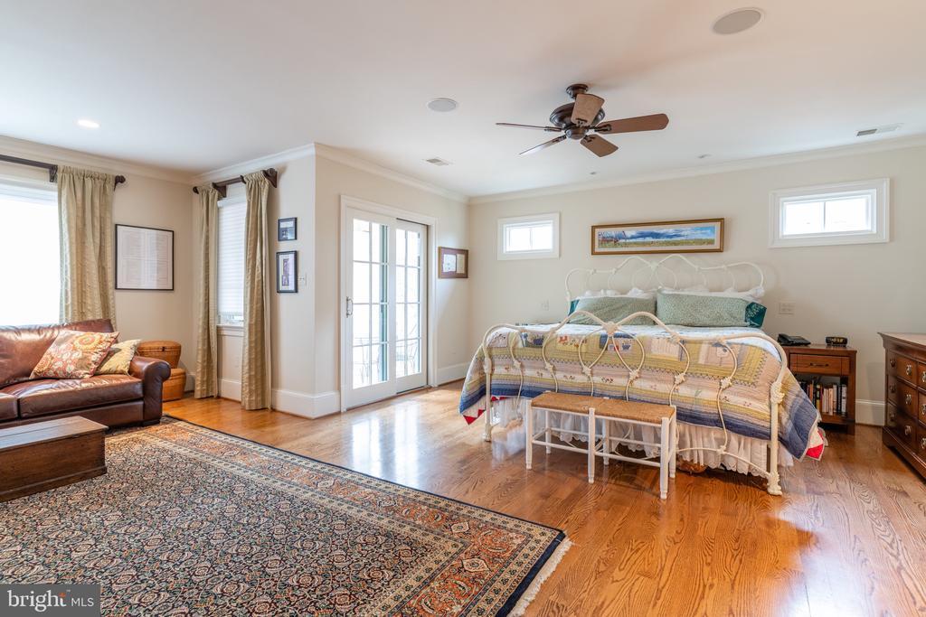 MASTER BEDROOM - 4105 N RANDOLPH CT, ARLINGTON