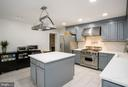 Chef's Kitchen  - Wolf stove and hood - 2704 S JOYCE ST, ARLINGTON