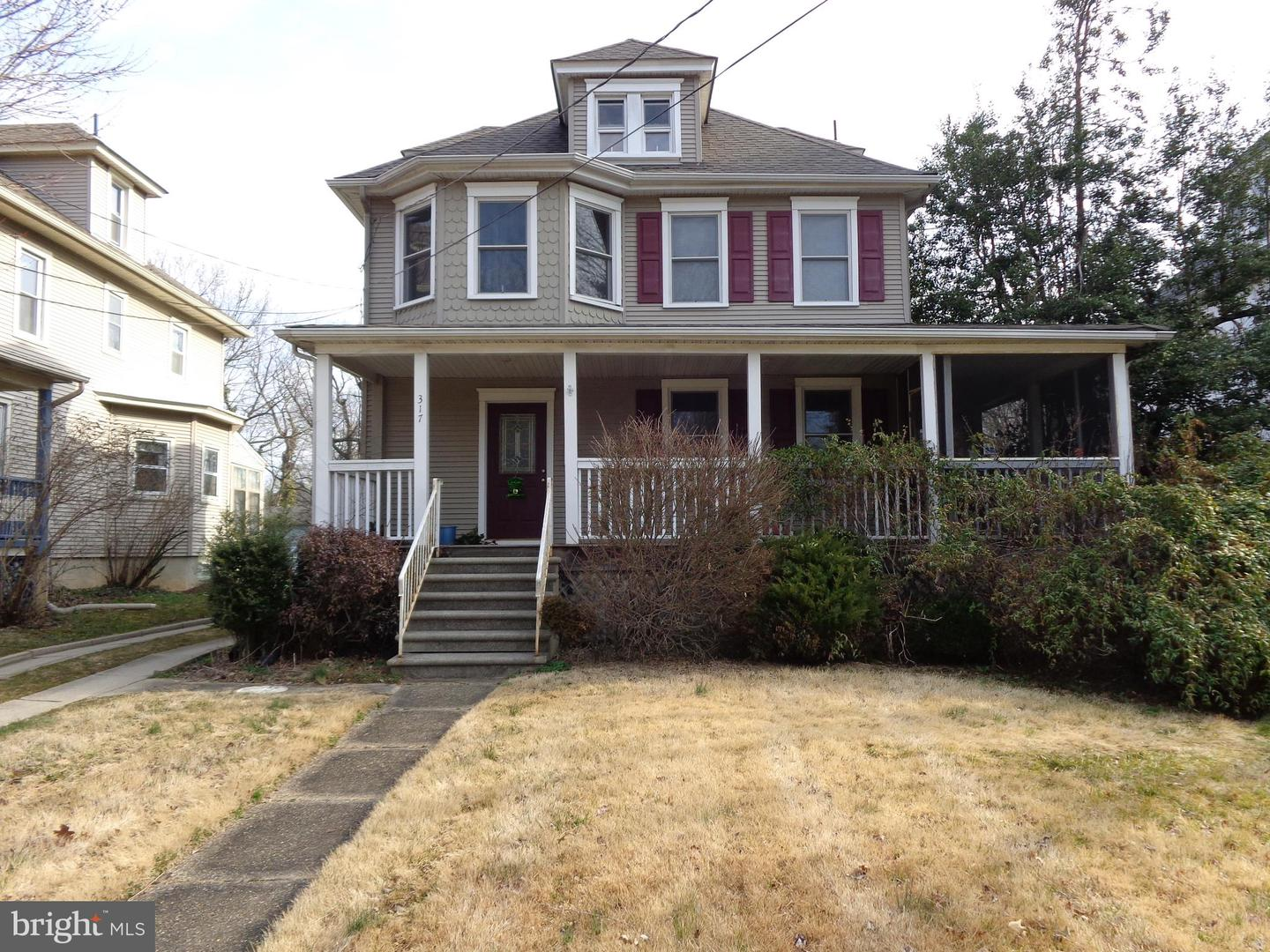 Photo of home for sale at 317 8th Avenue, Haddon Heights NJ