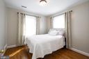 Bedroom #4  great size with generous closet - 2704 S JOYCE ST, ARLINGTON