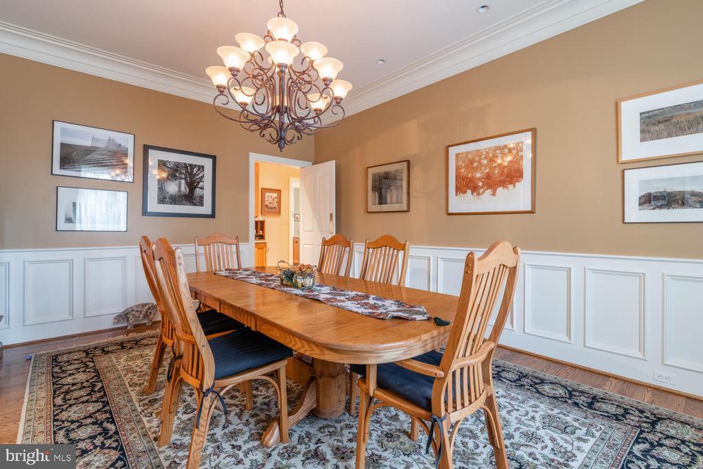 DINING ROOM - 4105 N RANDOLPH CT, ARLINGTON