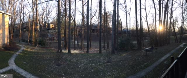 Panoramic view from balcony! - 4917 AMERICANA DR #E, ANNANDALE