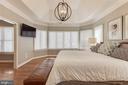 Master bedroom - 121 SINEGAR PL, STERLING