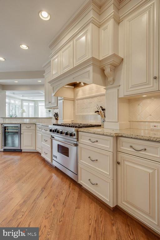 Gourmet kitchen, Viking range - 121 SINEGAR PL, STERLING