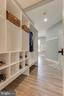 Mud room off laundry, coat and shoe storage - 121 SINEGAR PL, STERLING