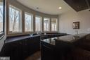 Lower level bar, backyard view - 121 SINEGAR PL, STERLING