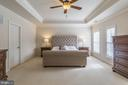 Spacious mater suite with huge walk-in closet - 18487 KERILL RD, TRIANGLE