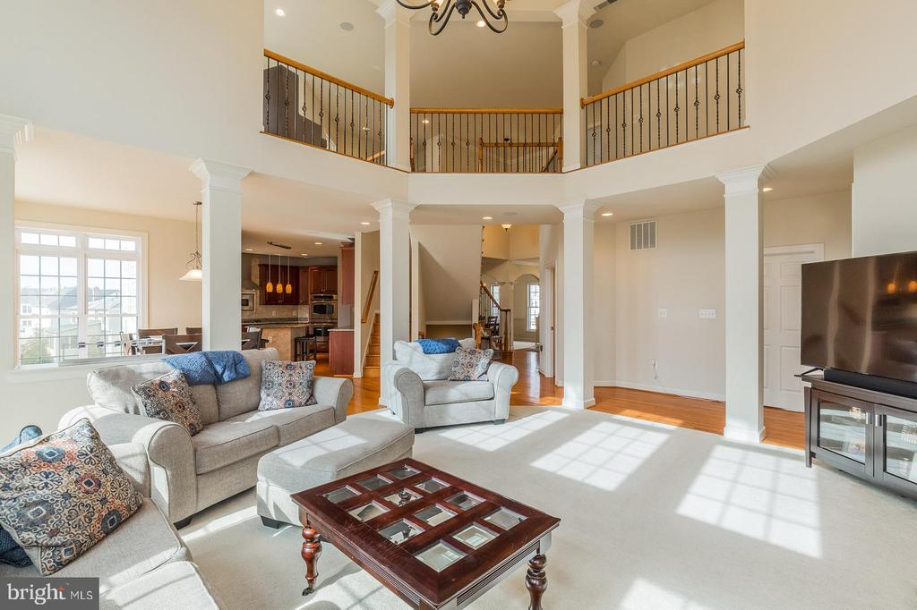 Dazzling views from interior - 18487 KERILL RD, TRIANGLE