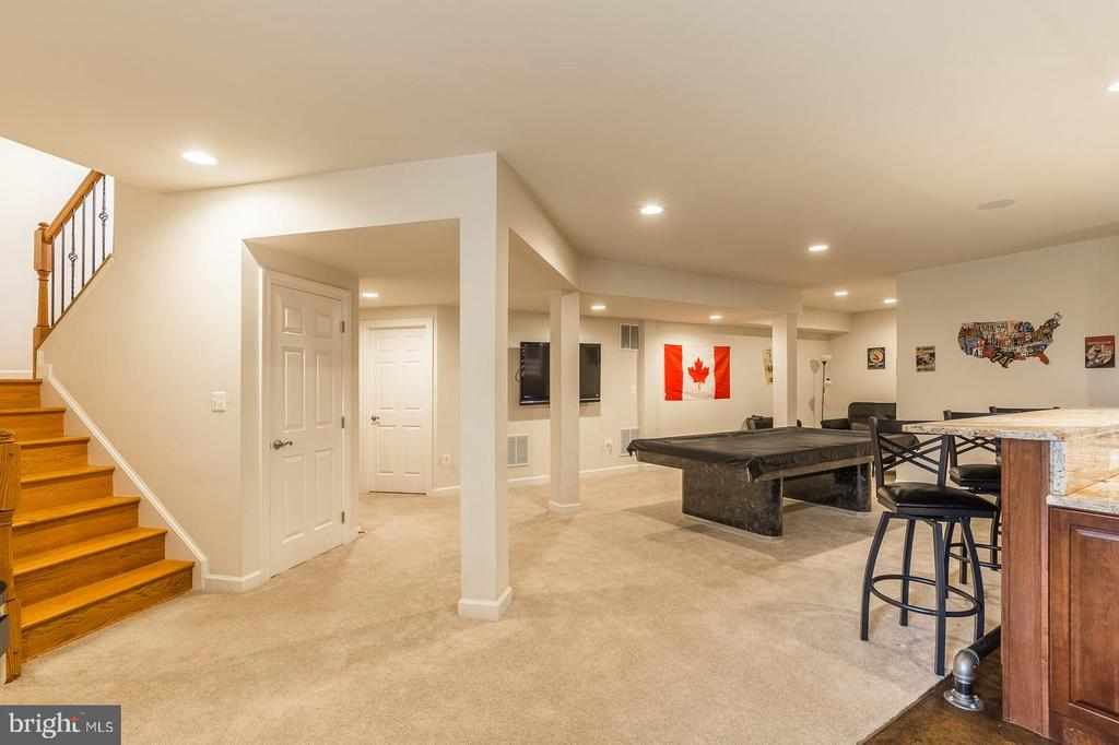 Walk-out basement w/ 2100 finished SF living area - 18487 KERILL RD, TRIANGLE