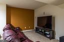 Media room with built-ins - 18487 KERILL RD, TRIANGLE