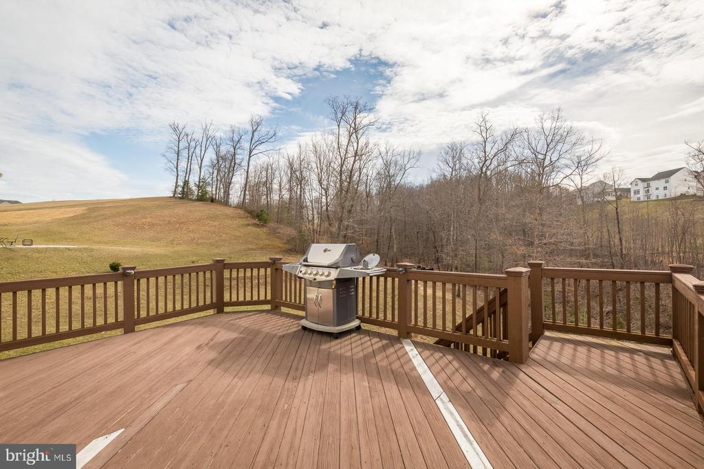 Expansive seasonal views from deck - 18487 KERILL RD, TRIANGLE