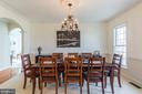 Plenty of room for a large feast - 18487 KERILL RD, TRIANGLE