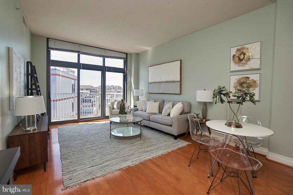 Living/Dining - 2120 VERMONT AVE NW #611, WASHINGTON