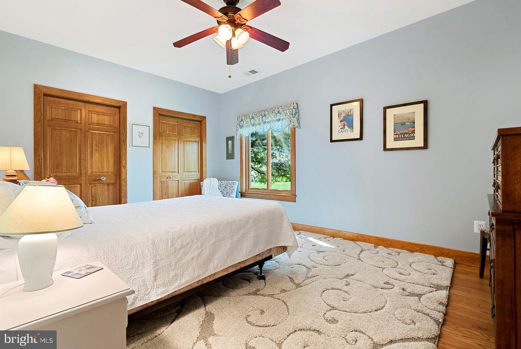 Bedroom 4 w/ceiling fan and hardwoods - 38581 DAYMONT LN, WATERFORD