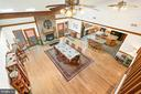 View from Loft overlooks Great Rm & County Kitchen - 38581 DAYMONT LN, WATERFORD
