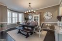 Formal Dining Room with Bay Window - 42231 AMBER MEADOWS LN, BRAMBLETON