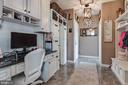 Mud Room with Built-in Desk Area - 42231 AMBER MEADOWS LN, BRAMBLETON