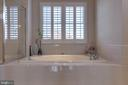 Master Bath Soaking Tub - 42231 AMBER MEADOWS LN, BRAMBLETON